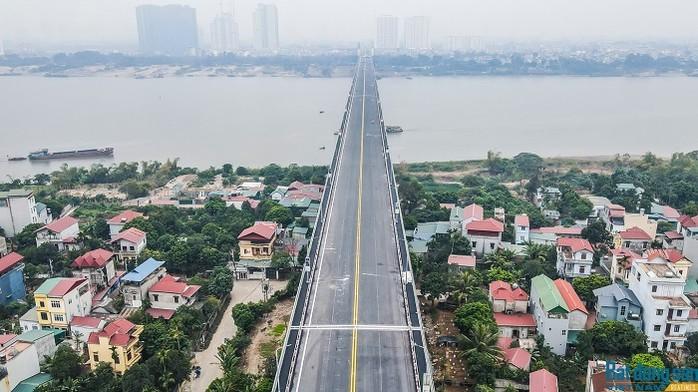 Chi tiết 10 cây cầu mới vượt sông Hồng ở Hà Nội