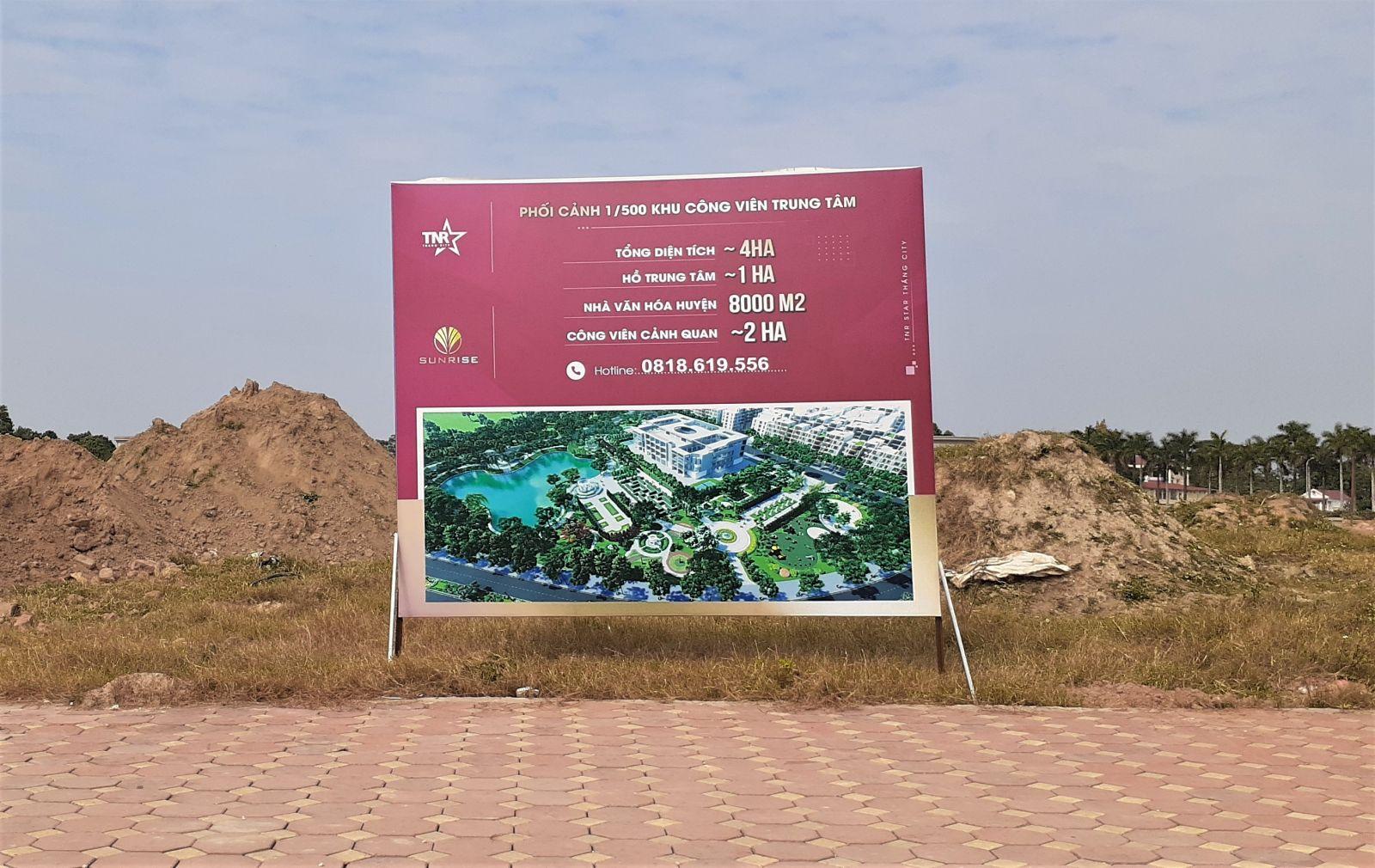 """Bắc Giang: """"Mập mờ"""" thu hồi đất thực hiện dự án TNR Stars Thắng City?"""