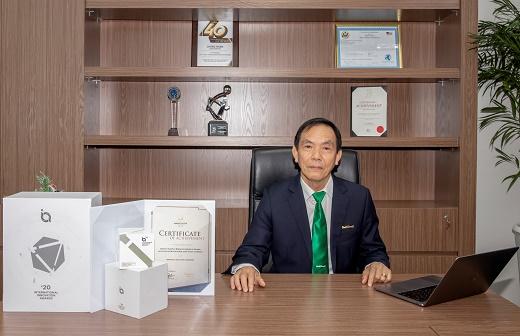 NutiFood DNsữa duy nhất tại châu Á được vinh danh giải thưởng Sáng tạo Đổi mới Quốc tế 2020