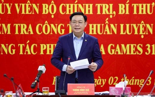 Hà Nội hoàn thành các công trình phục vụ SEA Games 31 trước ngày 30/9