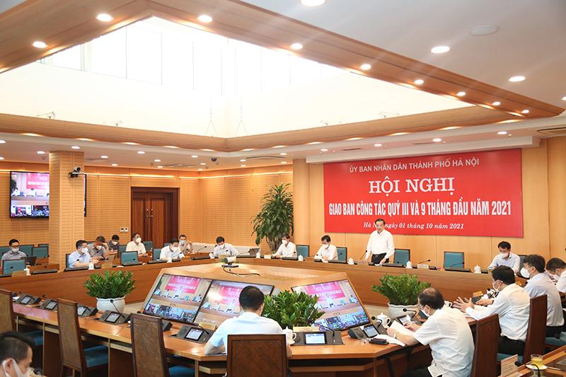 Lãnh đạo TP Hà Nội sẽ đối thoại với doanh nghiệp, tháo gỡ khó khăn trong bối cảnh dịch Covid-19