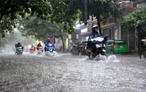 Dự báo thời tiết ngày 9/6: Mưa lớn, cảnh báo lũ quét
