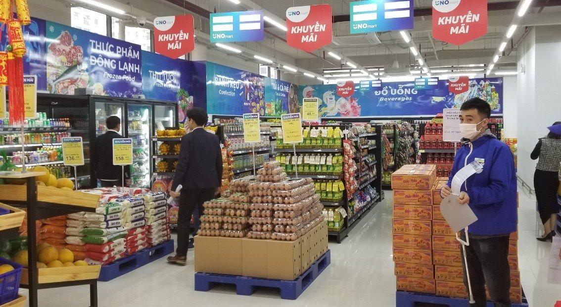 Trứng gà sạch Hòa Phát đã vào hàng loạt siêu thị