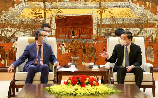 Hà Nội tăng cường hợp tác với các đối tác châu Âu trên nhiều lĩnh vực