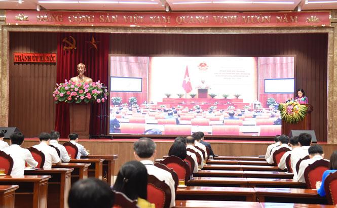 Hà Nội tập trung lãnh đạo, tổ chức thành công kỳ họp thứ nhất HĐND các cấp nhiệm kỳ 2021 - 2026