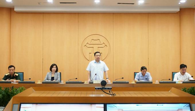 Hà Nội yêu cầu nâng cao mức độ phòng chống dịch Covid-19