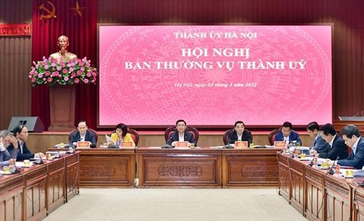 Ban Thường vụ Thành ủy Hà Nội thông qua chủ trương phê duyệt 6 đồ án quy hoạch 4 quận nội đô