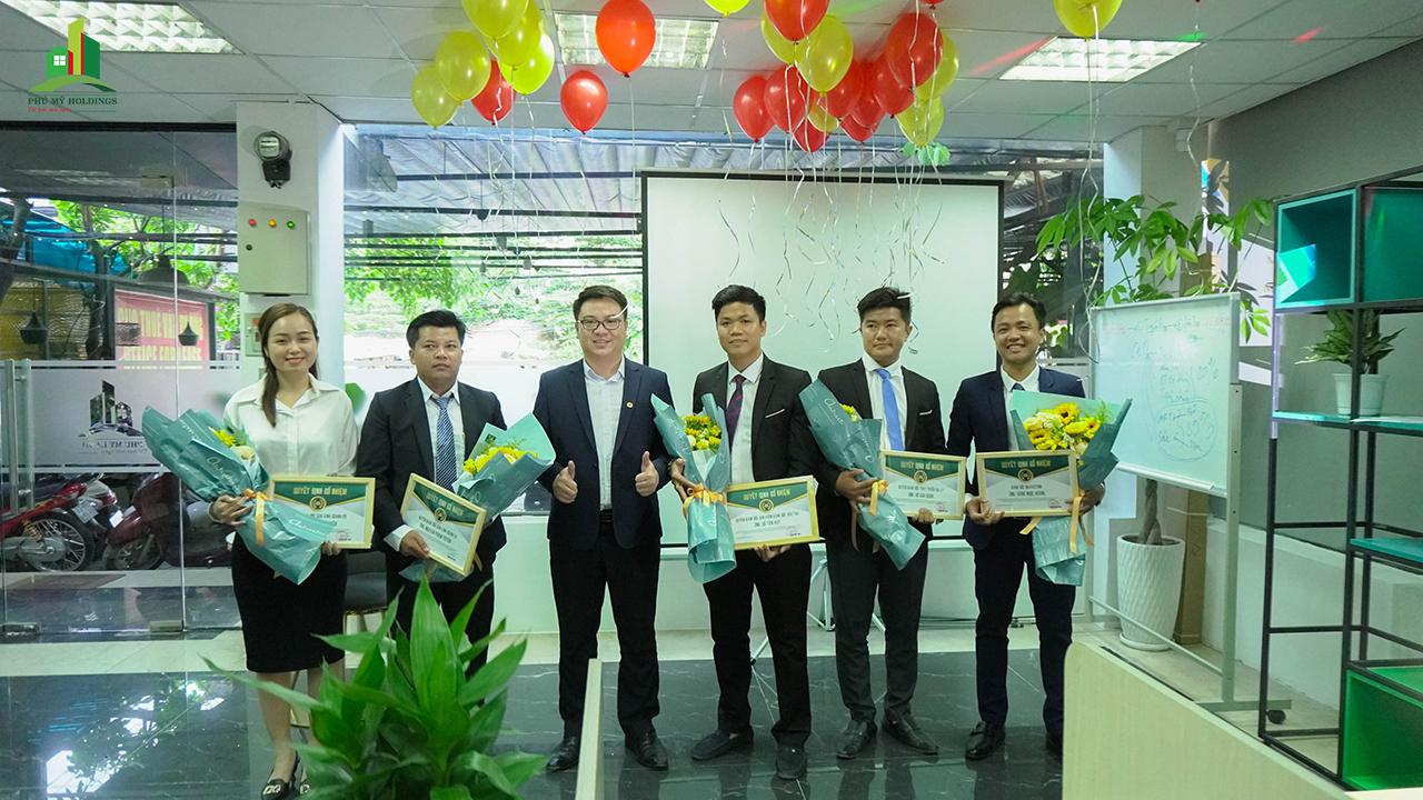 Phú Mỹ Holdings tăng nhân sự, đặt mục tiêu vào top 10 tập đoàn kinh tế hàng đầu