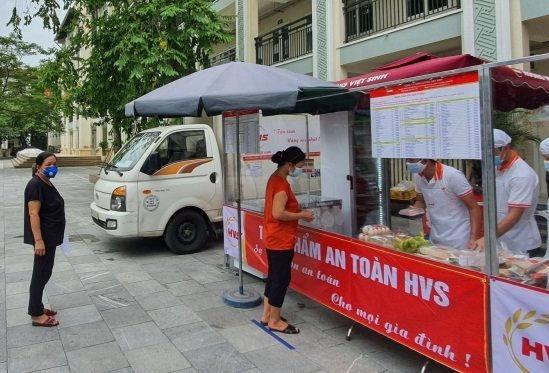 Hà Nội triển khai điểm bán hàng lưu động