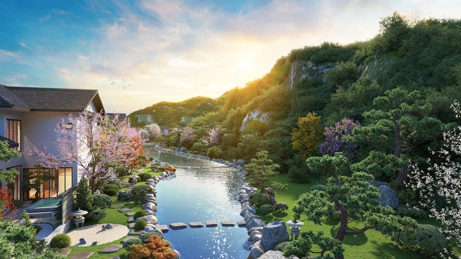 4 lý do giới tinh hoa `mê đắm` biệt thự khoáng nóng Yoko Villas
