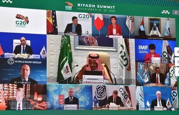 Các Bộ trưởng Tài chính các nước G20 họp trực tuyến