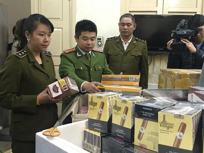 Tăng cường công tác đấu tranh chống buôn lậu thuốc lá xì gà