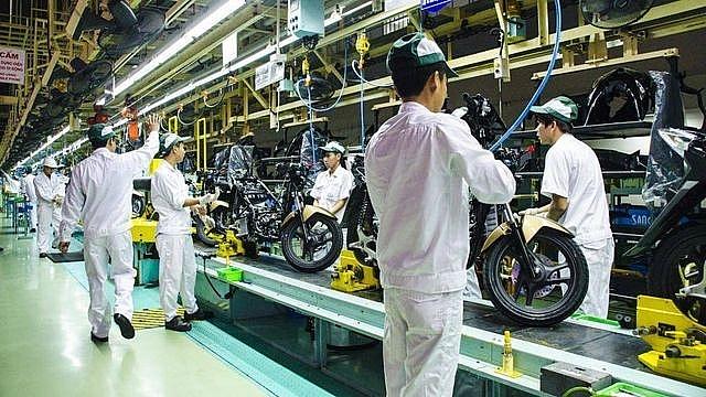 Trong quý I-2021 doanh số bán xe máy tại Việt Nam giảm nhẹ