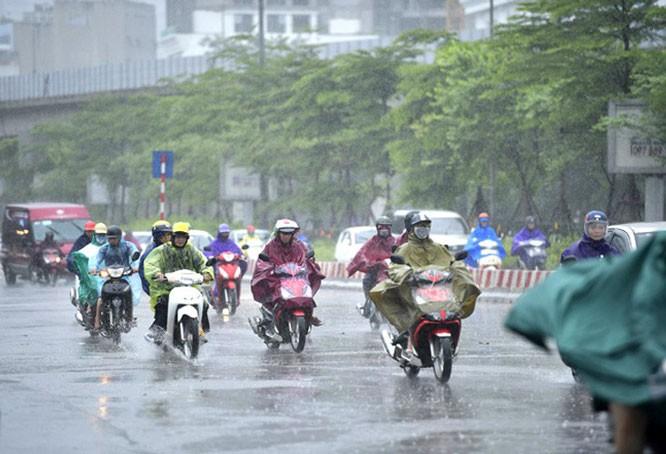 Dự báo thời tiết 28/4: Các tỉnh vùng núi Bắc Bộ có mưa to và dông