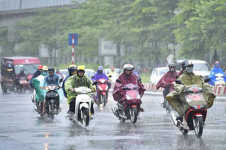 Dự báo thời tiết 27/4: Bắc Bộ, Bắc Trung Bộ có mưa vừa, mưa to, và dông