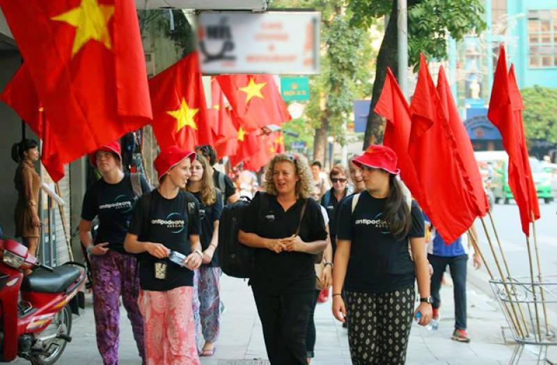 Lượng khách quốc tế đến Việt Nam ít kỷ lục
