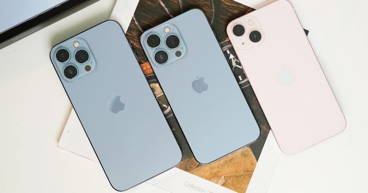 iPhone chính hãng thế hệ 13 giảm giá, nguồn cung không đủ cầu