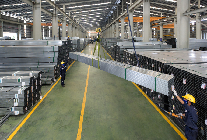 Hoạt động sản xuất gặp khó khăn do giá nguyên, vật liệu tăng cao