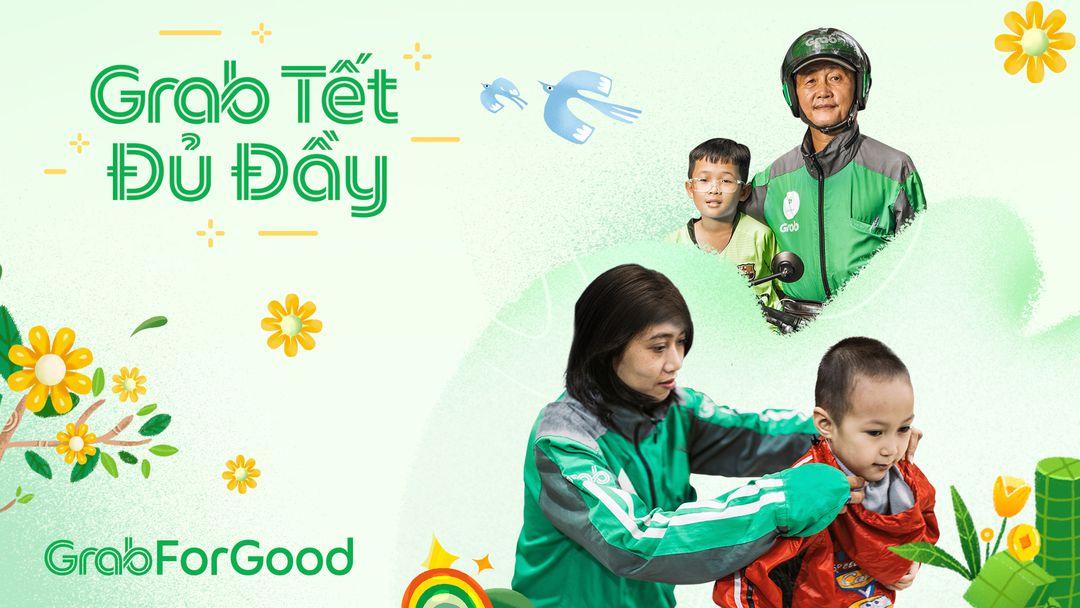 Grab chi 3,5 tỷ đồng hỗ trợ đối tác và cộng đồng đón Tết