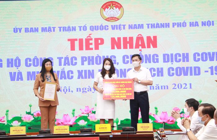 Hà Nội: Kêu gọi toàn dân ủng hộ kinh phí mua vắc-xin phòng, chống Covid-19