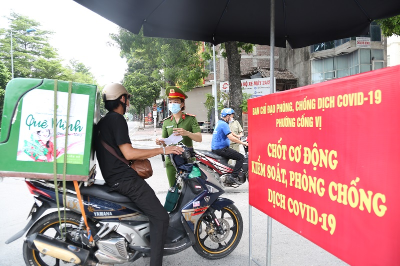 Những điểm sáng chống dịch của Thủ đô Hà Nội