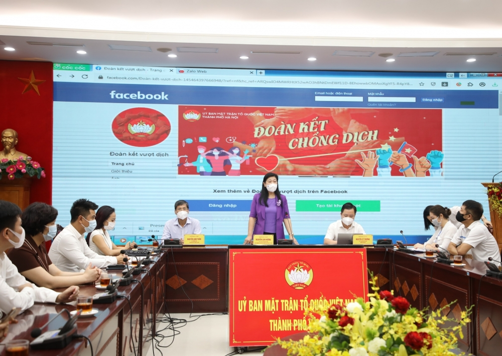 """Hà Nội: Ra mắt Fanpage """"Đoàn kết chống dịch"""" hỗ trợ các hoàn cảnh khó khăn"""