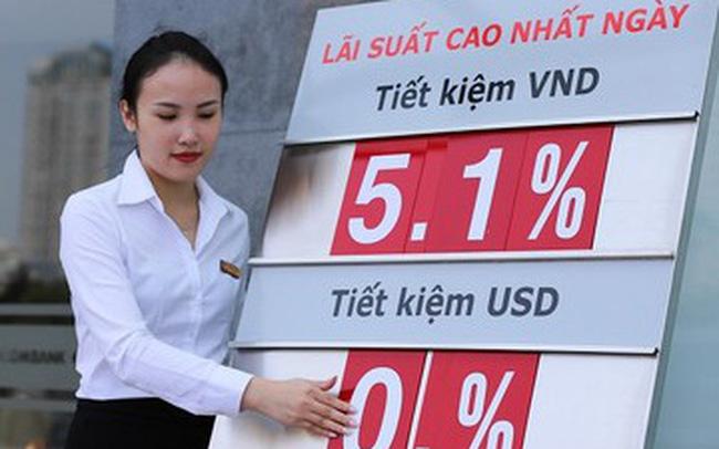 Mức lãi suất thấp khiến cho số lượng người dân gửi tiền vào ngân hàng thấp kỷ lục