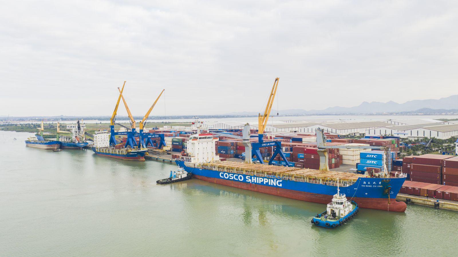 Cảng Chu Lai lần đầu hợp tác xuất khẩu với doanh nghiệp nước ngoài