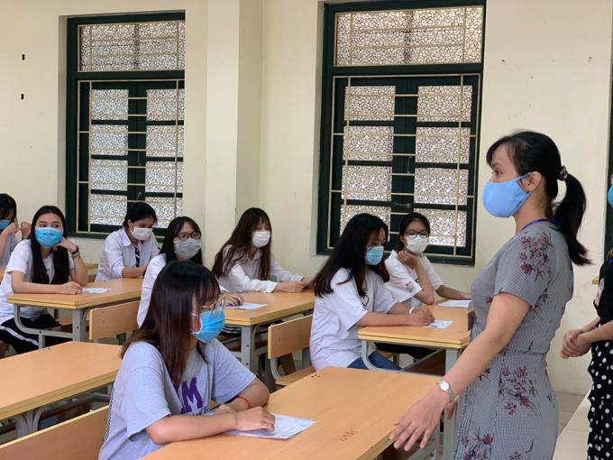 Hà Nội có 4.200 phòng thi trong kỳ thi tốt nghiệp THPT