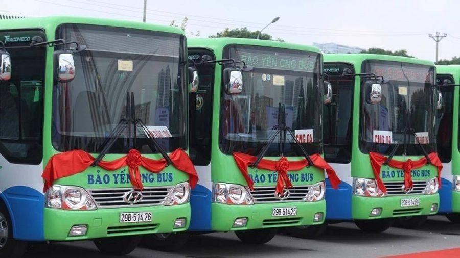 Hà Nội: Mở rộng vùng phục vụ hai tuyến buýt nhiên liệu sạch