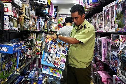 Xử lý triệt để đồ chơi trẻ em không rõ nguồn gốc xuất xứ, không đảm bảo an toàn