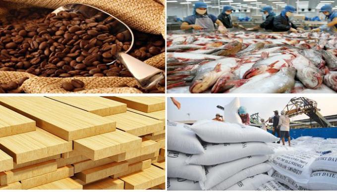 Xuất khẩu nông, lâm, thủy sản 8 tháng đầu năm tăng 21,6% so với cùng kỳ