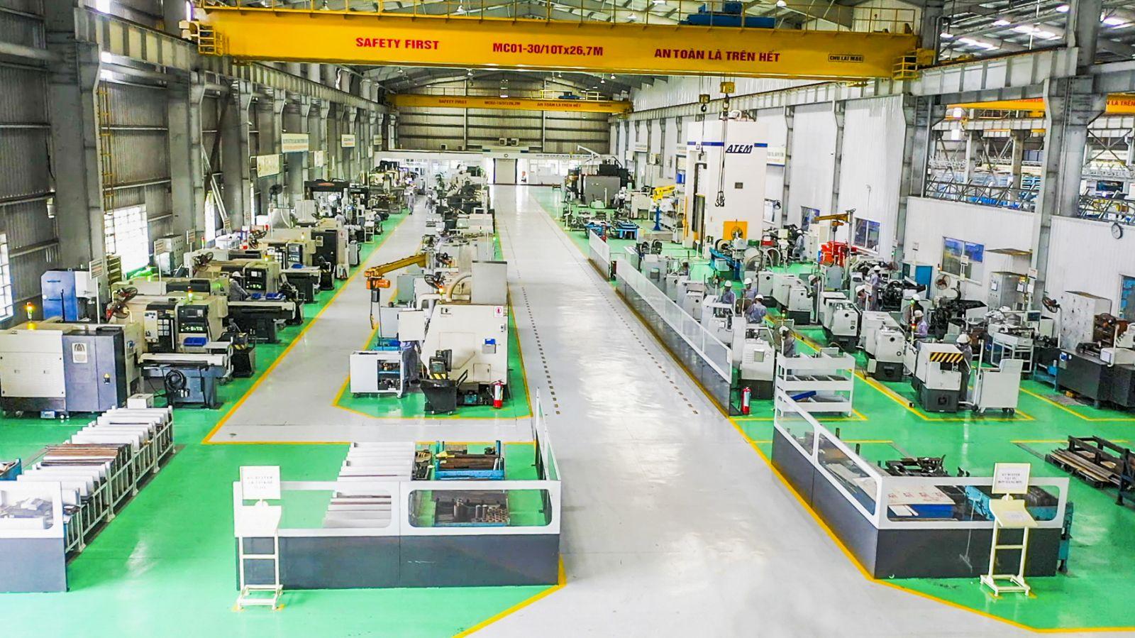 Tổ hợp cơ khí THACO Chu Lai phát triển chế tạo khuôn mẫu