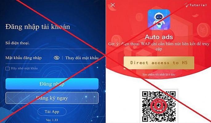 Công an Hà Nội cảnh báo ứng dụng Auto Ads hoạt động huy động vốn trái phép