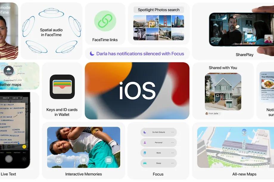 Apple chính thức ra mắt hệ điều hành iOS 15