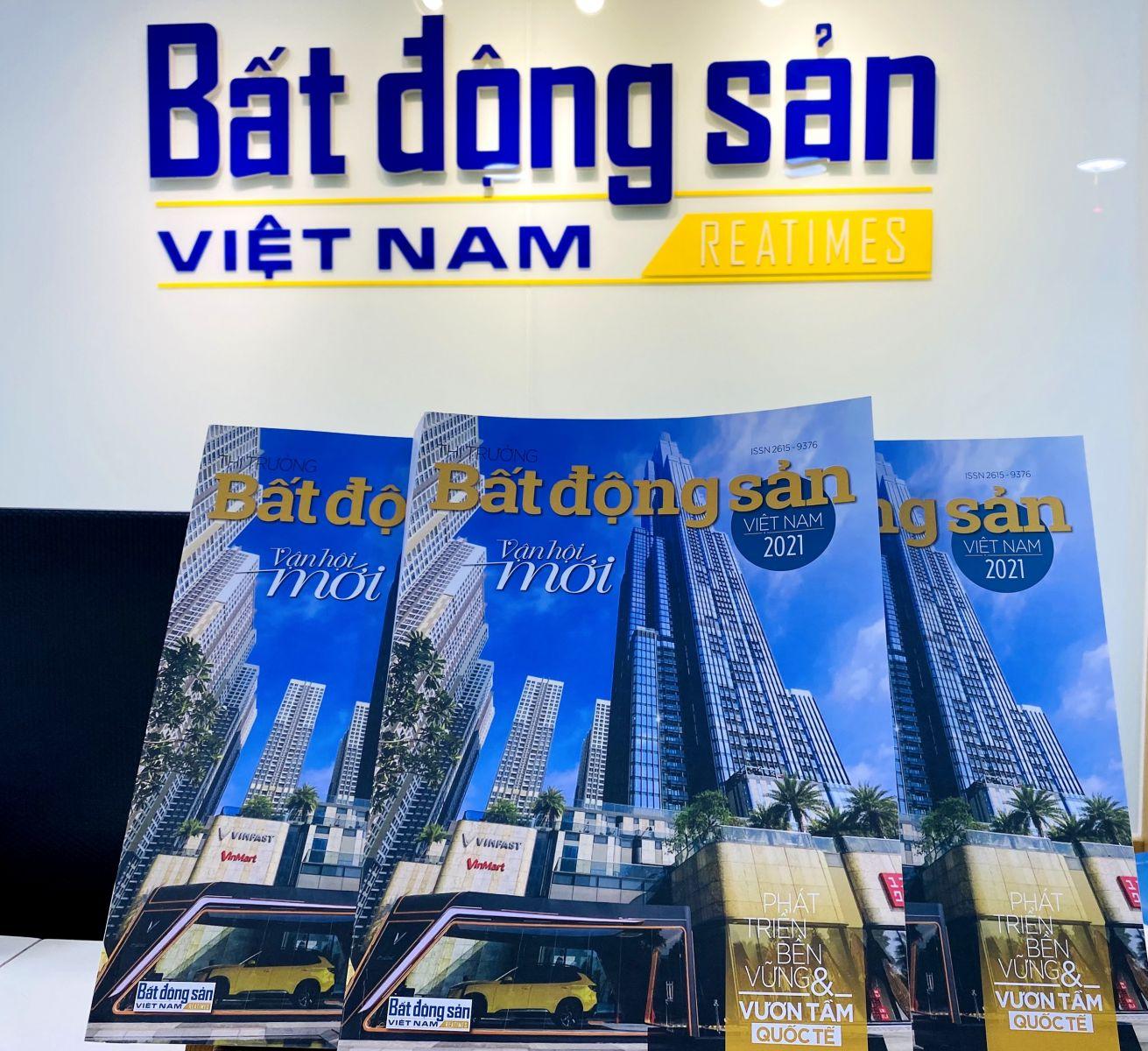 """Ra mắt ấn phẩm """"Thị trường Bất động sản Việt Nam 2021 - Vận hội mới"""""""