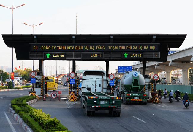 Sắp thu phí BOT mở rộng xa lộ Hà Nội