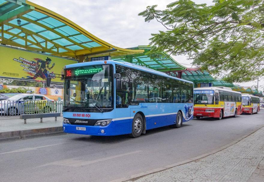 Hà Nội có thêm 4 tuyến buýt mới ra ngoại thành