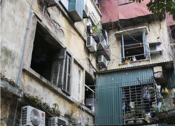 HoREA: Cần có chính sách tái định cư, giải quyết chỗ ở tạm thời khi thực hiện cải tạo chung cư cư cũ