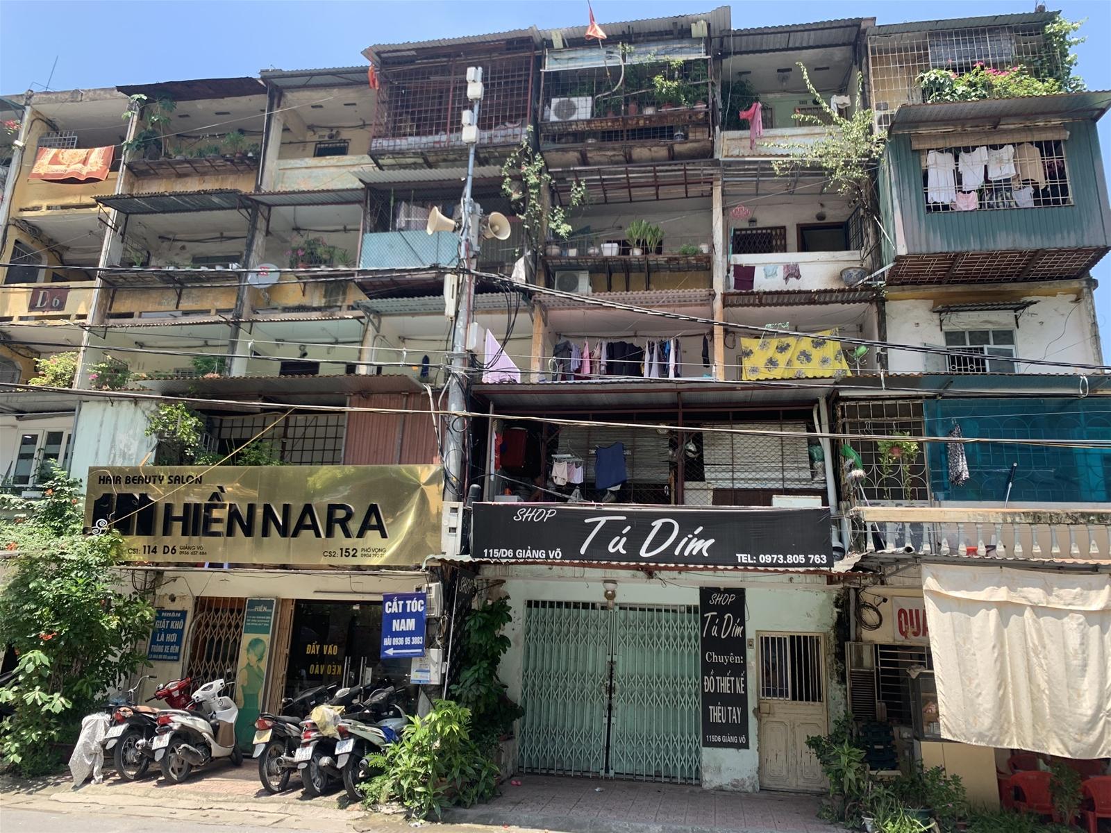 Hà Nội: Thành lập Ban chỉ đạo cải tạo chung cư cũ