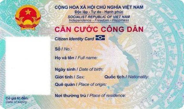 Bộ Công an công bố mẫu thẻ căn cước công dân gắn chíp