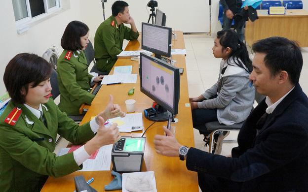 Từ 1/1 - 7/2021:  2,5 triệu người dân Hà Nội sẽ được cấp căn cước công dân gắn chip điện tử