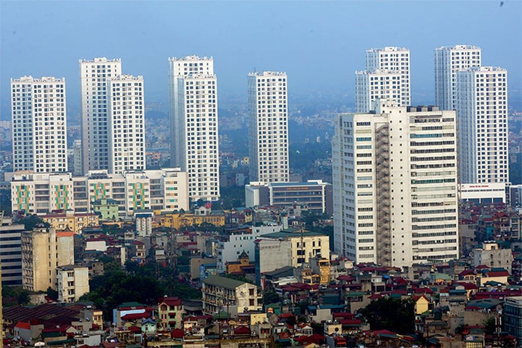 Gần 1/4 hộ gia đình tại Hà Nội ở nhà chung cư