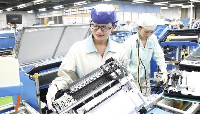 Chỉ số sản xuất công nghiệp tháng đầu tiên của năm 2021 khởi sắc