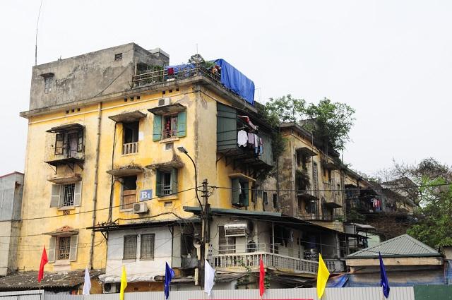 Cải tạo chung cư cũ tại Hà Nội: Làm gói gọn không dàn trải