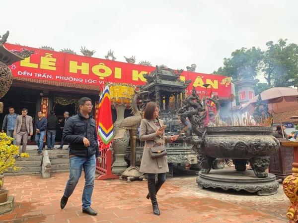 Nam Định tiếp tục dừng lễ hội khai ấn Đền Trần 2021