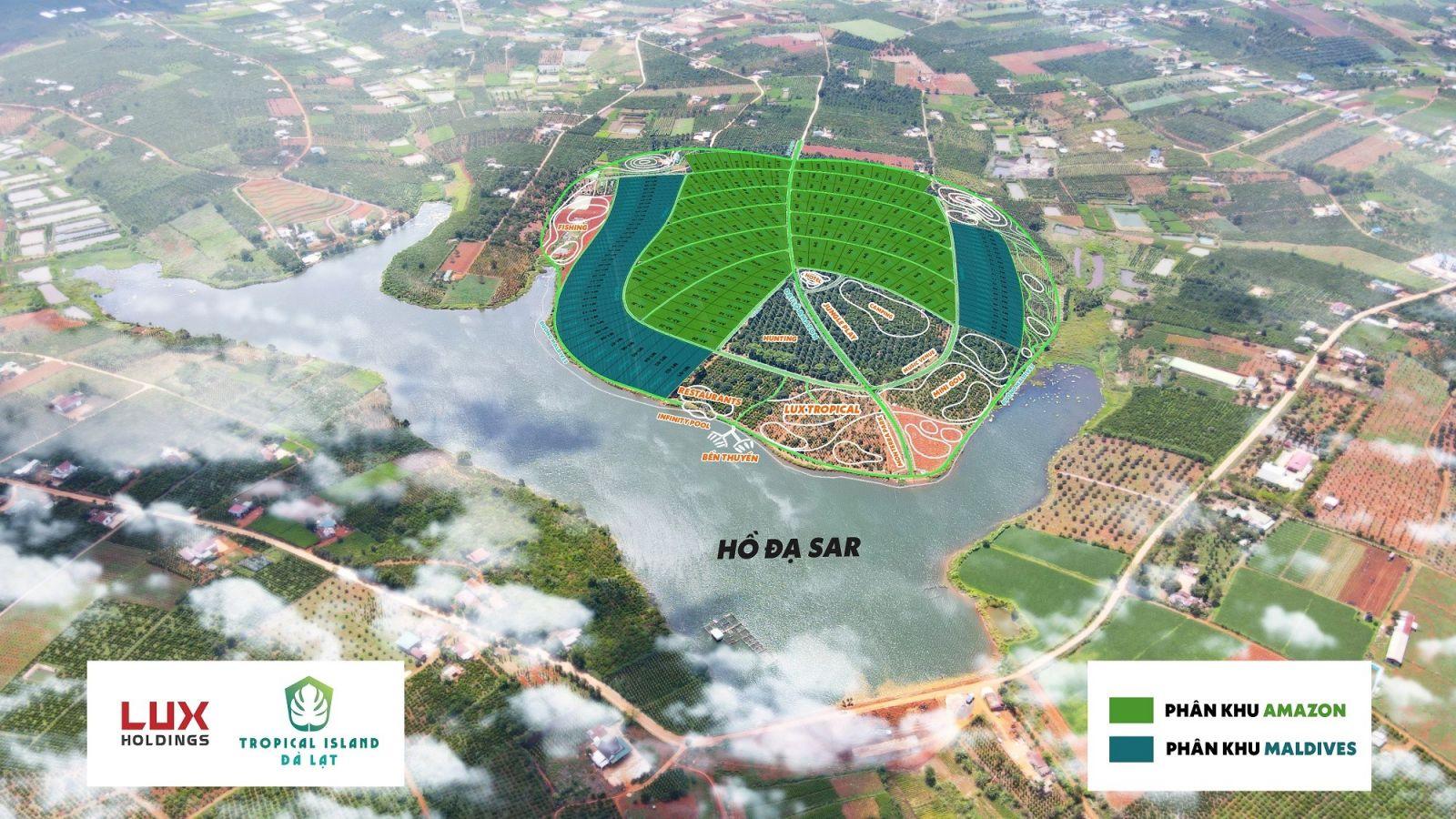 Lux Holdings ra mắt siêu dự án Tropical Island Da Lat