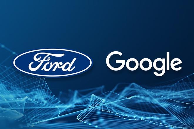 Ford hợp tác với Google phát triển hệ thống kết nối mới