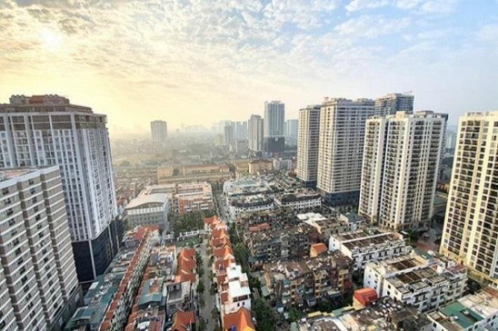 Giá chung cư Hà Nội tăng 20% trong 5 năm qua