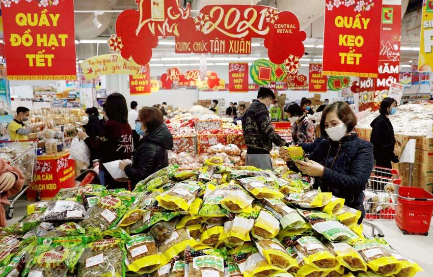 Hà Nội chuẩn bị 39.000 tỷ đồng hàng hóa phục vụ Tết Nguyên đán Nhâm Dần
